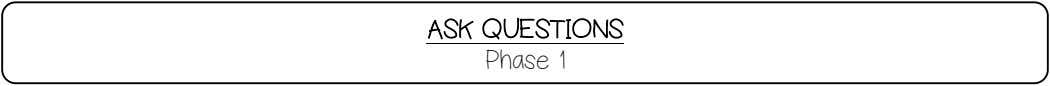 ASK QUESTIONS Phase 1