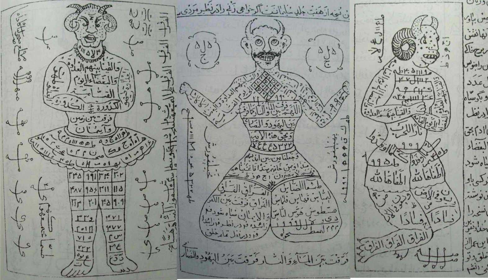 INVOKING DJINNS IN SEDUCTION TALISMANS Djinns are illustrated as mighty auxiliaries in quranic talismanology , featuring