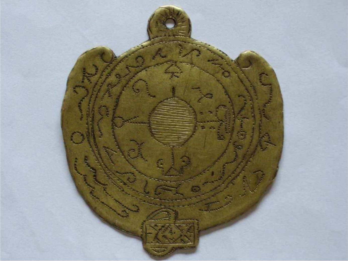 « DEVINER TALISMAN » INHERITED FROM ARABIC DJINNOLOGY White magic records about talismans (see bibliography)