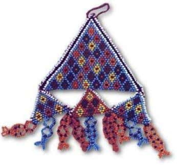 EVIL EYE BEADS (BEDOUINS) TENT BEADRUGS (BEDOUINS) Shape and colour historically resembled a deformed eye.