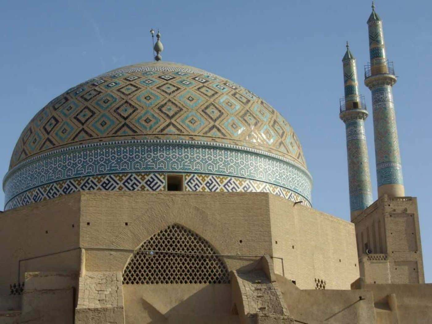 BRIDES THROW LOCK KEYS TOWARDS SUITORS : a custom surviving in Yazd. On Fridays, it