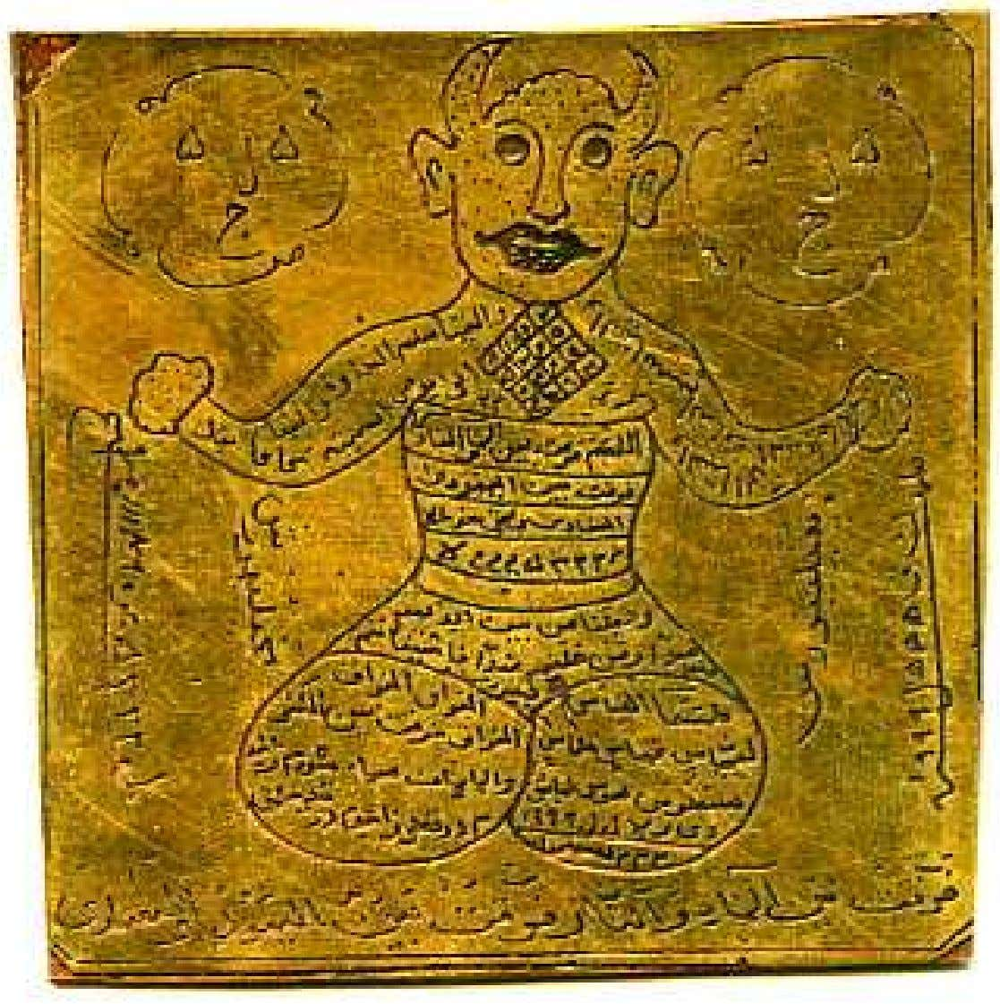 'DIVS' INHABIT CHARMS The iranian talismanology is composite, as this merges advanced numerology, zodiac, judaicca,
