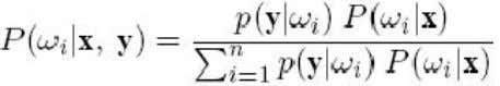 i.e., P(Wi/X) can be calculated using the Bayes rule as Let If we assume that the