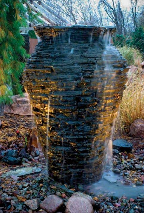 16 / decorative water feature decorative water feature / 17