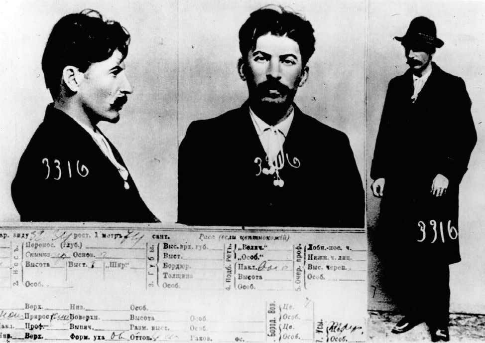 HUNTER AND HUNTED: Josef Stalin, whose secret police would destroy so many lives in the