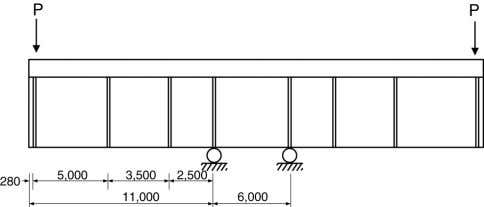 27 (2005) 1613–1624 1615 (a) Composite girder section. (b) Precast panel. (c) Elevation. Fig. 1. Test