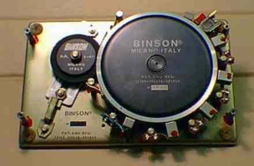Binson Echorec Calculation of Delay Times Using an analog tape recorder with varispeed to produce