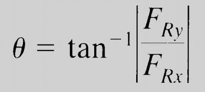 You can also represent a 2-D vector with a magnitude and angle. 14