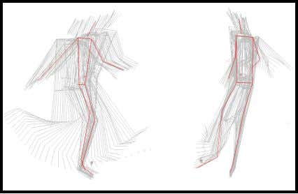 Figure 3 A kinogram of the kicking phase demonstrating the distance between the support foot
