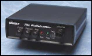 The Bullshooter Endless Loop Digital Voice Recorder Digital storage and endless playback for up to