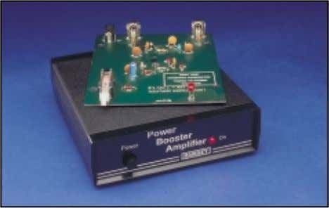 RF Linear Power Booster Amplifier Looking for a quick and simple boost for signal generators,