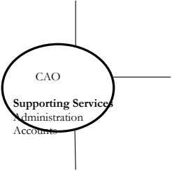 CAO Supporting Services Administration Accounts