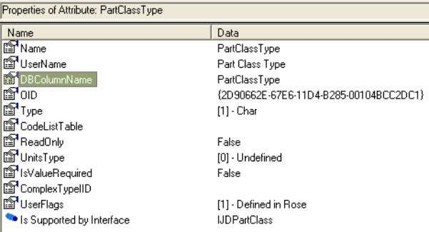 6. To search for part classes in the catalog database, we must execute a SQL