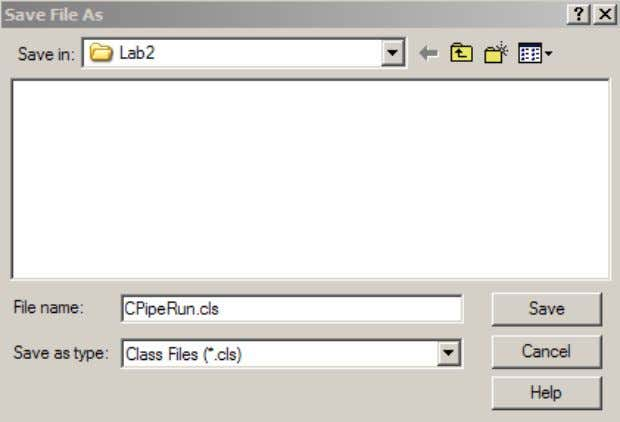 9. Go to the Properties Window and change the name of the Project and ClassModule