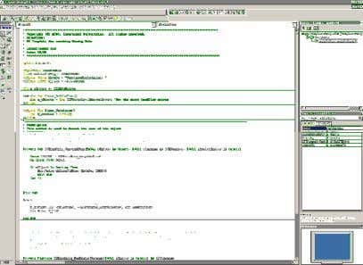 and open the Naming Rule Template project. 6. Setup the Visual Basic Development Environment as shown