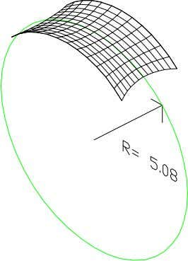 stress equation: Skin Stress = Hoop Radius * Pressure. So looking at the barrel vault shown,