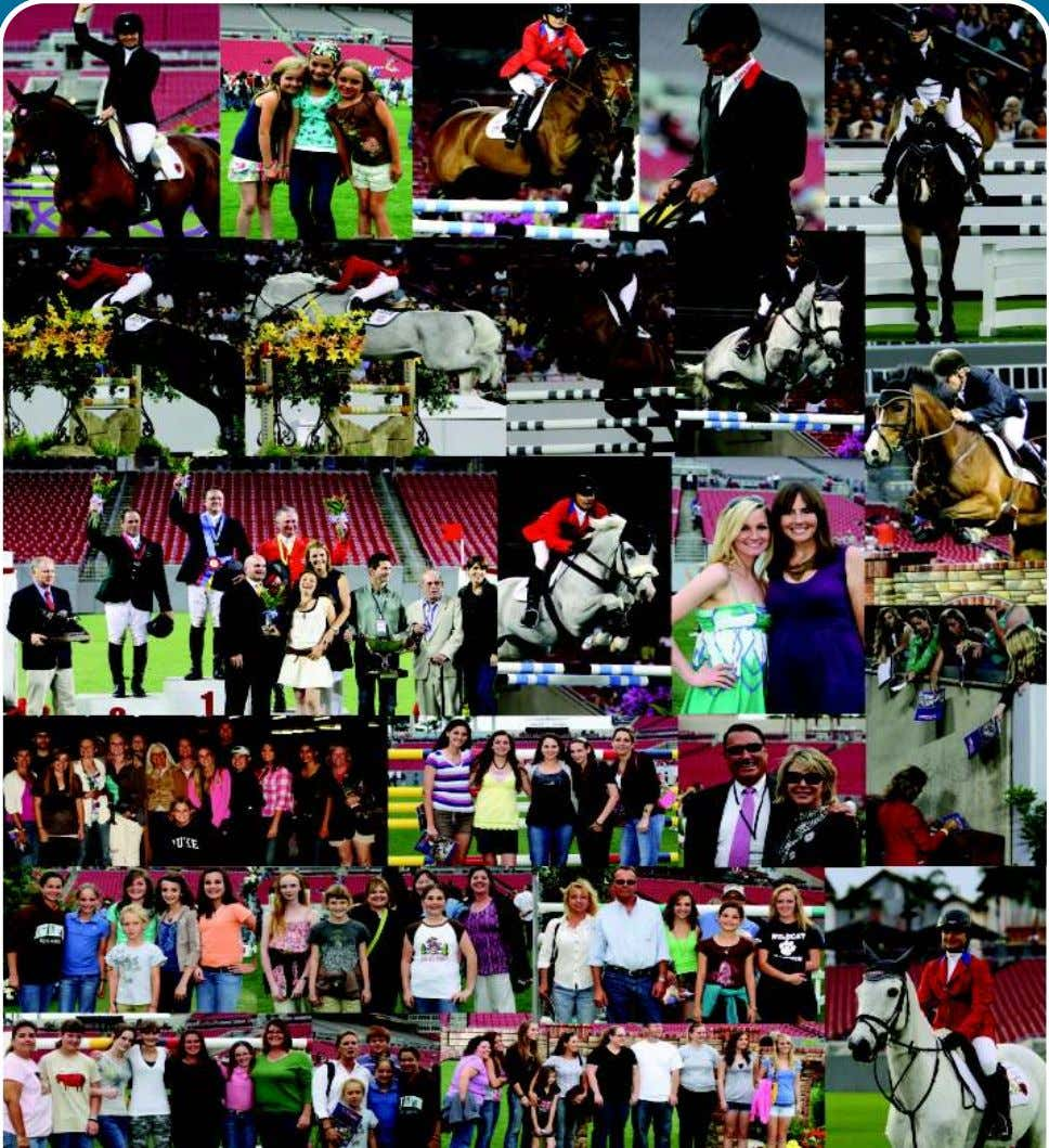 2010 American Invitational~Who's Who? Top: Beezie Madden, cute girls, Debbie Stephens & Cleu, Todd Minikus, Lesley