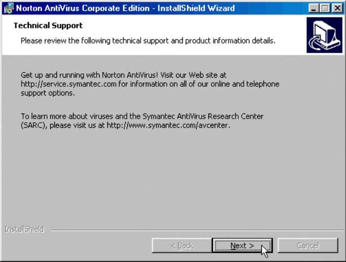 Chapter -2 77 Name : Installation of Norton - Antivirus 1. Read the LiveUpdate window, then