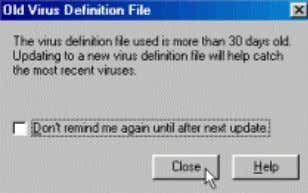80 Computer Hardware Updating Virus Definitions with LiveUpdate 17. If your computer is already connected to