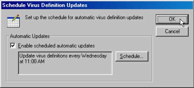 m e : Recovery of System through Anti-Virus patches 6. Exit the NortonAntiVirus program. 5.3.2 Manually