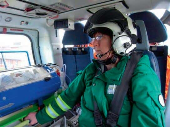 Feature The much anticipated Children's Air Ambulance got off to a flying start this week, with