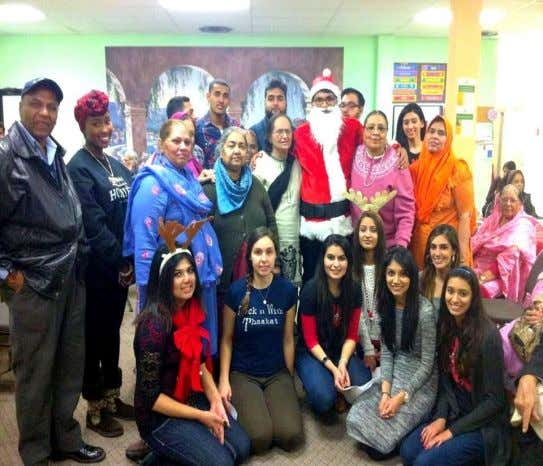 "Middle Eastern and the Bosnian communities in Illinois. "" The seniors were thrilled at spending time"