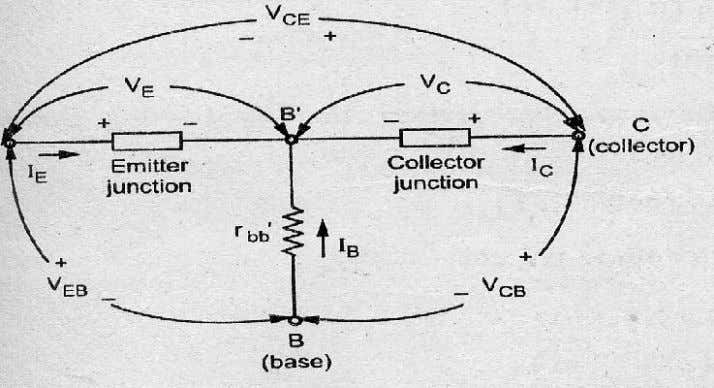 and applicable in any of the transistor operating modes. Figure2.23 Transistor currents and Voltages direction The