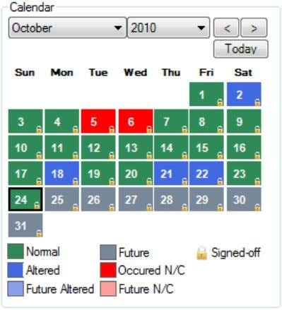 This will take you to the Signoff interface, where you can choose crew members' timesheets to
