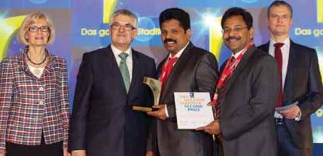 Awards Kerala wins Tourism's Oscar again in Berlin Kerala Tourism Minister Shri A P Anil Kumar