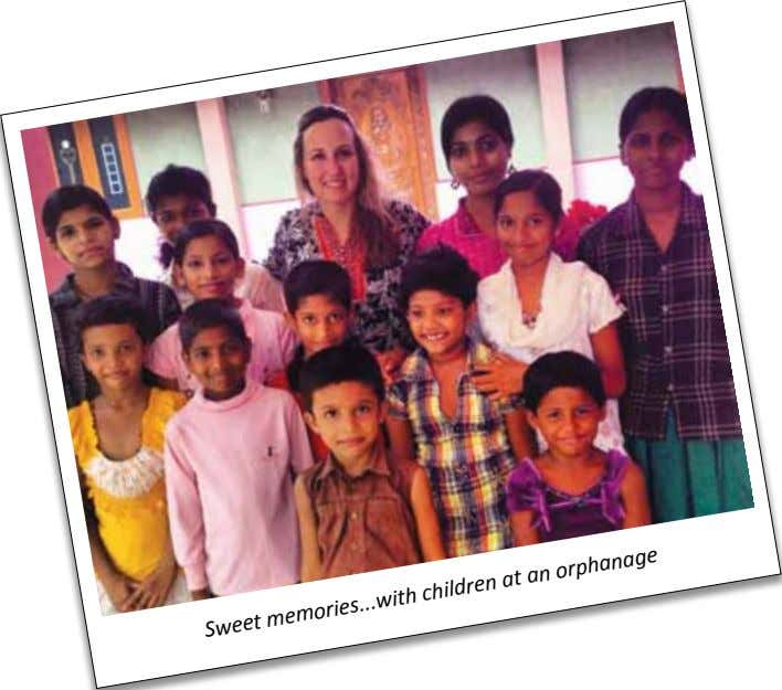 with Sweet memories an orphanage children at