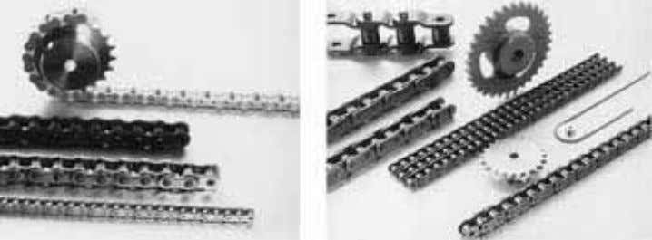 the following sections, we will discuss the various types. Figure 1.1 Power Transmission Chains 1.1 STANDARD