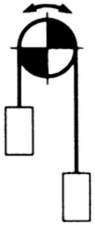 Figure 4.3 Hanging Transmission Where Conveyed Objects Are Lifted or Suspended at the End of