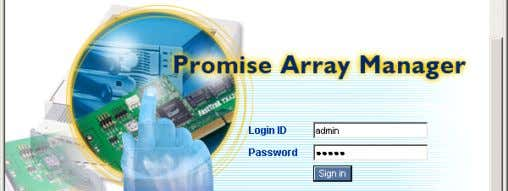 admin for the Login ID. b. Type admin for the Password. c. Click Sign In. Publication