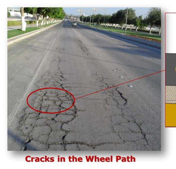 Cracks in the Wheel Path