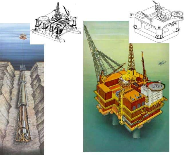 is limited to deal with offshore structures, see Fig. 1. a) Offshore oil and gas exploitation