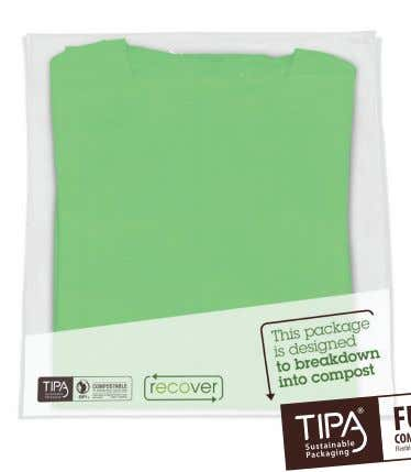 properties • Both sides sealable & printable Regulatory Features • Film is certified as compostable