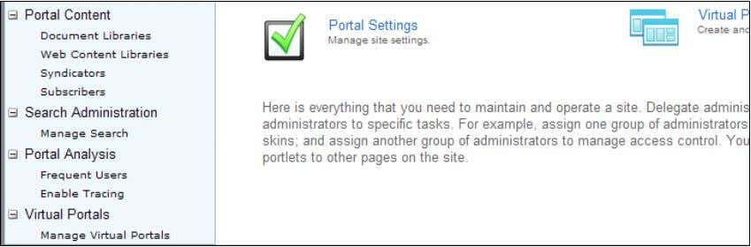 Server: Step by Step DRAFT DRAFT www.WebSphereMentor.com Step 11: Click on New Virtual Portal tab to