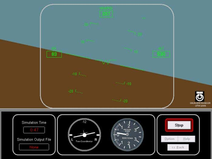 Figure 16 Latest co ckpit and HUD display 7.0 Future Development The suggestions for the