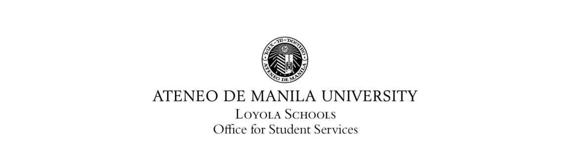 MEMO TO: ALL LOYOLA SCHOOLS STUDENTS FROM: Michael Jacinto F. Mallillin Director, Office for Student