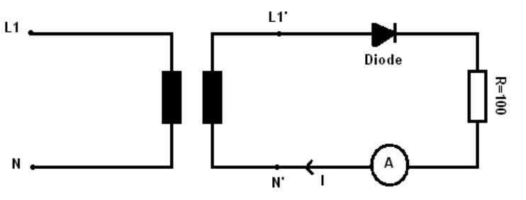 • Connecting Leads • Multimeter Circuit Diagram: Theory: A diode is a specialized electronic component with