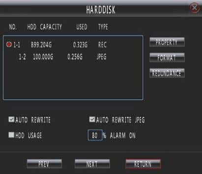 """Main Menu - Setup—Harddisk"" as shown in Fig. 25. Fig. 25 Fig.26 Select a hard disk,"