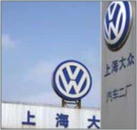 logistics operations existed when you first came to China? Shanghai Volkswagen had been handling its
