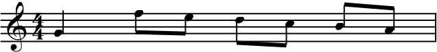 is 4) Time Signature top number = number of counts in one measure bottom number =