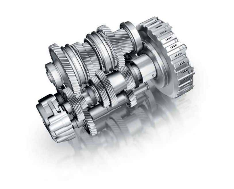 Transmission S tronic® Driving is all about thinking ahead, which is just what the S