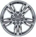 "'5-double-spoke Off-road' design alloy wheels – C7G 17"" x 7J '5-arm Trias' design alloy wheels –"