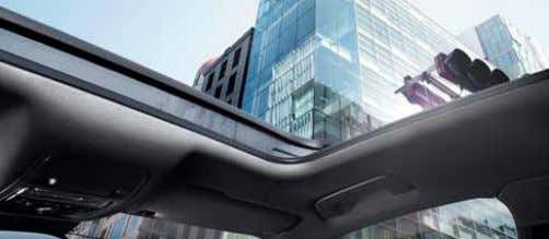 side when reverse gear is selected n n £208.33 £250.00 Panoramic glass sunroof Panoramic glass sunroof
