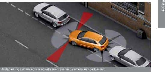 Options Audi parking system advanced with rear reversing camera and park assist