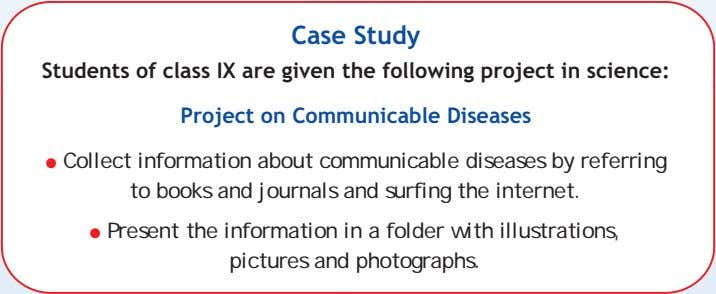 in a folder with illustrations, pictures and photographs. The folders should be submitted for evaluation within