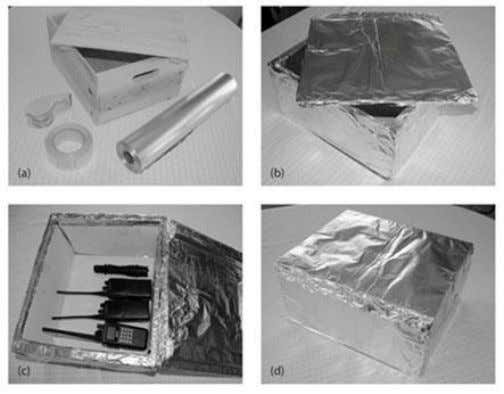 also duct tape some cardboard on the inside part of the lid. Figure illustrating the making