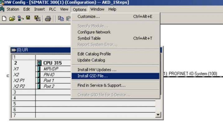 Here also the GSDML files for PROFINET devices can be installed.: Kollmorgen | kdn.kollmorgen.com | October